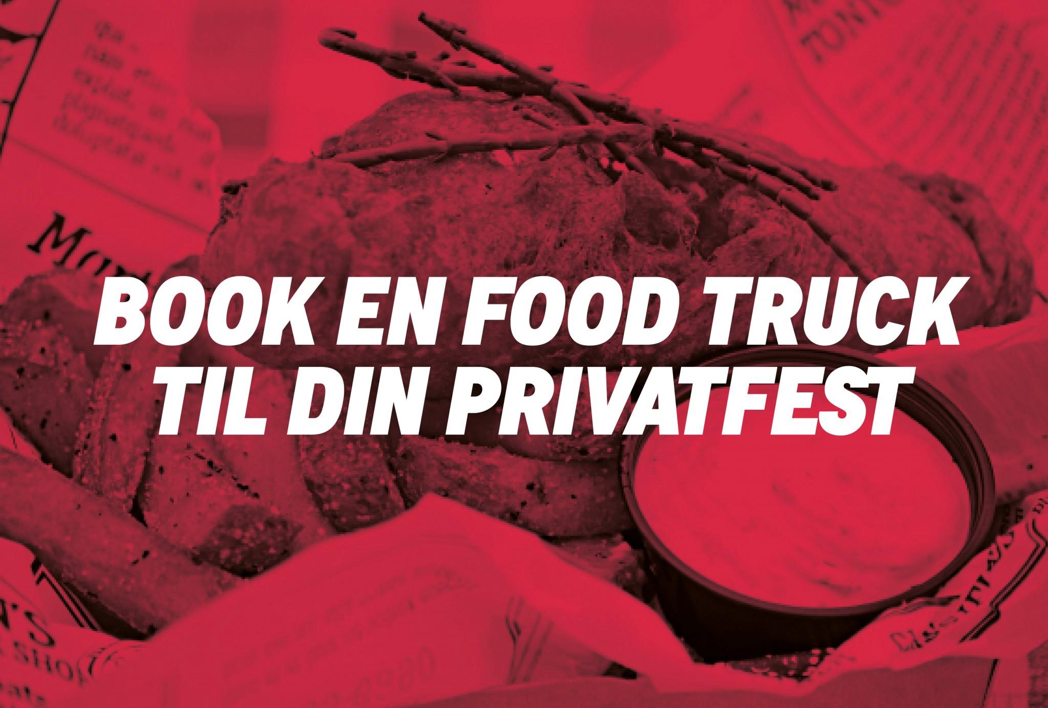 Book en food truck eller madcykel til dit arrangement, fest, workshop, fredagsbar med street food