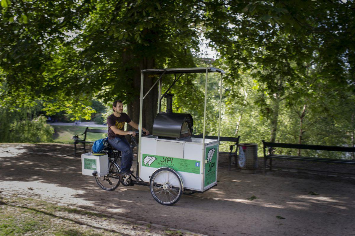 Jipi Empanadas serverer empanadas og argentinsk street food på Rebel Food's street food-markeder